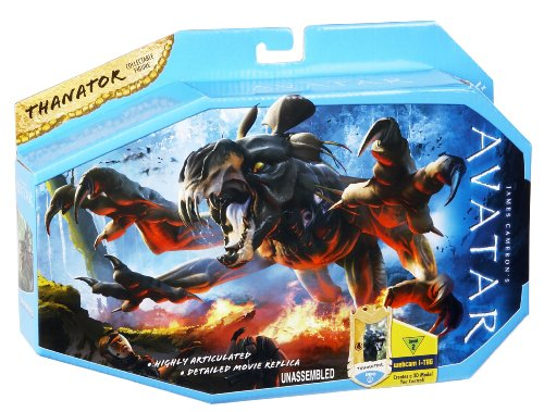 James Camerons Avatar Movie Toy Viper Wolf Attack With Avatar Jake Sully R2310 MATTEL LA-WZ4R-3TU1