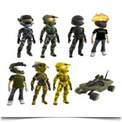 Buy Halo Series 1 Xbox Live Avatar Mini Figures